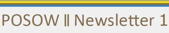 POSOW II Banner Newsletter 1