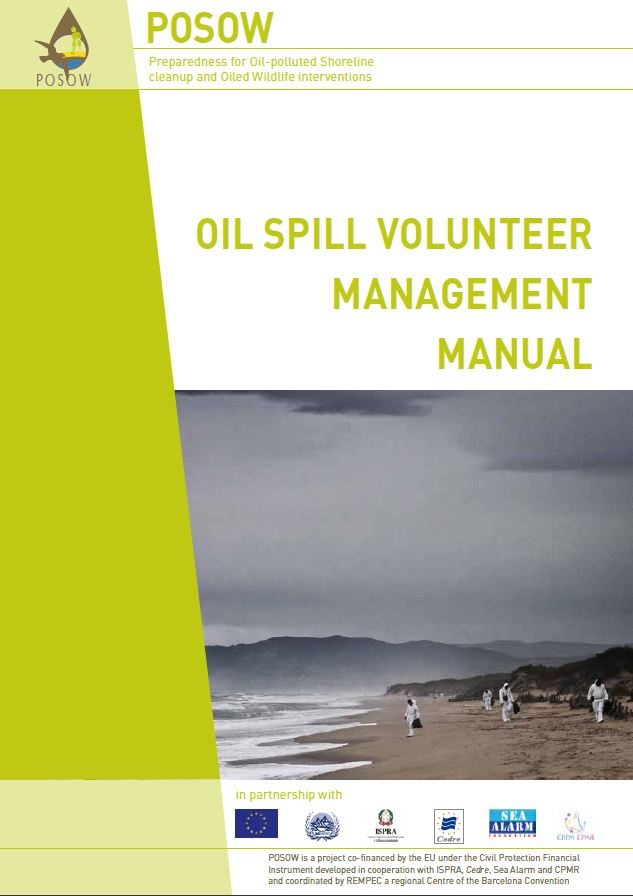 The POSOW Oil Spill Volunteer Management Manual is now available!
